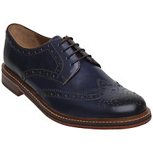 Buy Bertie Braxton Storm 2 Brogue Leather Derby Shoes Online at johnlewis.com