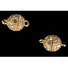 Buy Jesse James Magnetic Clasp, Small Ball, Gold Online at johnlewis.com