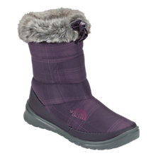 Buy The North Face Nuptse Fur IV Boots, Baroque Purple/Graphite Grey Online at johnlewis.com