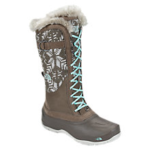 Buy The North Face Shellista Lace Luxe Boots, Moonlight Ivory/Sisley Blue Online at johnlewis.com