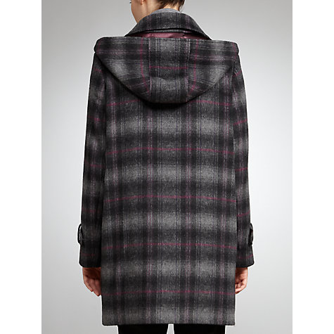 Buy Four Seasons Checked Duffle Coat, Multi Online at johnlewis.com