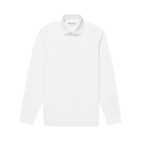 Buy Reiss Explorer Classic Fit Shirt, White Online at johnlewis.com