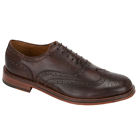 Buy Bertie Braxton Brogues, Brown Online at johnlewis.com