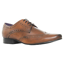 Buy KG by Kurt Geiger Thompson Leather Brogue Shoes Online at johnlewis.com