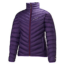 Buy Helly Hansen Women's Verglas Down Insulated Coat, Imperial Purple Online at johnlewis.com