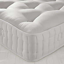 Buy John Lewis Natural Collection Egyptian Cotton 5000 Mattress, Super Kingsize Zipped & Linked Online at johnlewis.com