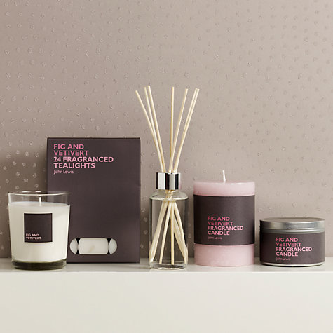 Buy John Lewis Fig & Vetivert Home Fragrance Collection Online at johnlewis.com
