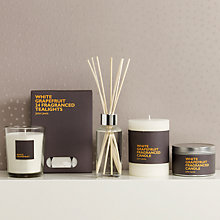 Buy John Lewis White Grapefruit Home Fragrance Collection Online at johnlewis.com