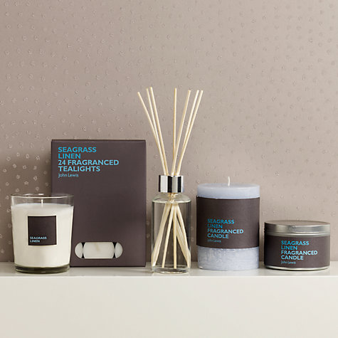 Buy John Lewis Seagrass Linen Home Fragrance Collection Online at johnlewis.com