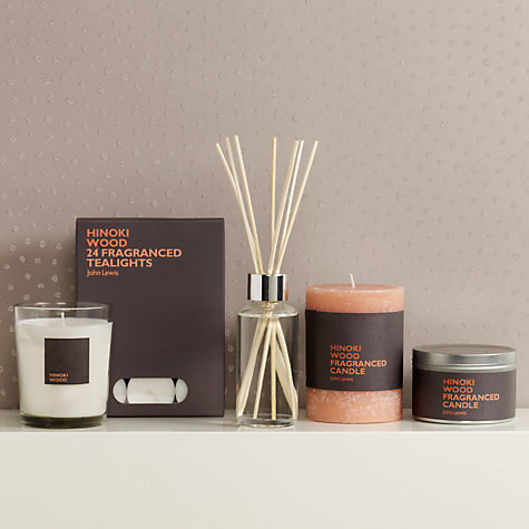 Buy John Lewis Hinoki Wood Home Fragrance Collection Online at johnlewis.com