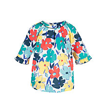 Buy John Lewis Girl Floral Top, Multi Online at johnlewis.com