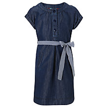 Buy John Lewis Girl Denim Dress, Blue Online at johnlewis.com