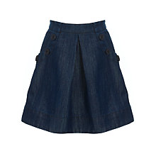 Buy John Lewis Girl Skirt, Denim Online at johnlewis.com