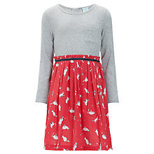 Buy John Lewis Girl Cat Dress, Multi Online at johnlewis.com