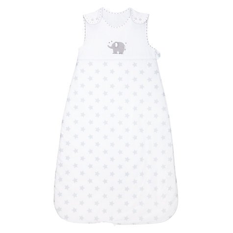 Buy John Lewis Baby Star Sleeping Bag, 2.5 Tog, Grey Online at johnlewis.com