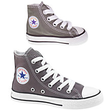 Buy Converse Chuck Taylor All Star Ox Hi-Top Trainers, Charcoal Online at johnlewis.com