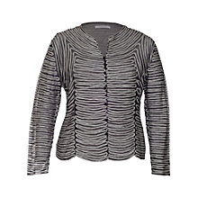 Buy Chesca Skeleton Jacket, Black/Ivory Online at johnlewis.com