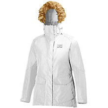 Buy Helly Hansen Aden Parka, White Online at johnlewis.com