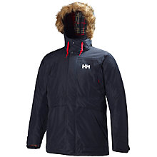Buy Helly Hansen Coastal Parka, Navy Online at johnlewis.com