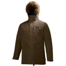 Buy Helly Hansen Dublin Parka, Walnut Online at johnlewis.com