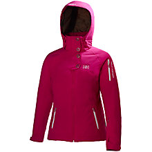 Buy Helly Hansen Stratten Jacket, Hot Pink Online at johnlewis.com