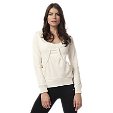 Buy Freddy Fleece Top, Cream Online at johnlewis.com