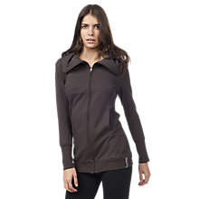 Buy Freddy Fleece Zip Through Top, Brown Online at johnlewis.com