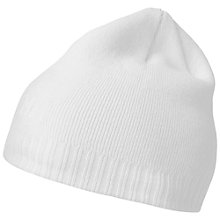 Buy Helly Hansen Ribbed Logo Beanie, One Size, White Online at johnlewis.com