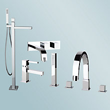 Buy Abode Zeal Bathroom Taps Online at johnlewis.com