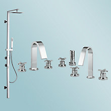 Buy Abode Serenitie Bathroom Taps Online at johnlewis.com