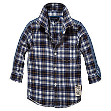 Buy Tommy Hilfiger Mini Seashore Checked Shirt, Blue Online at johnlewis.com