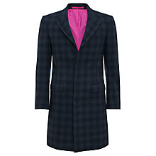 Buy Joe Casely-Hayford for John Lewis Tamworth Overcoat, Navy Online at johnlewis.com
