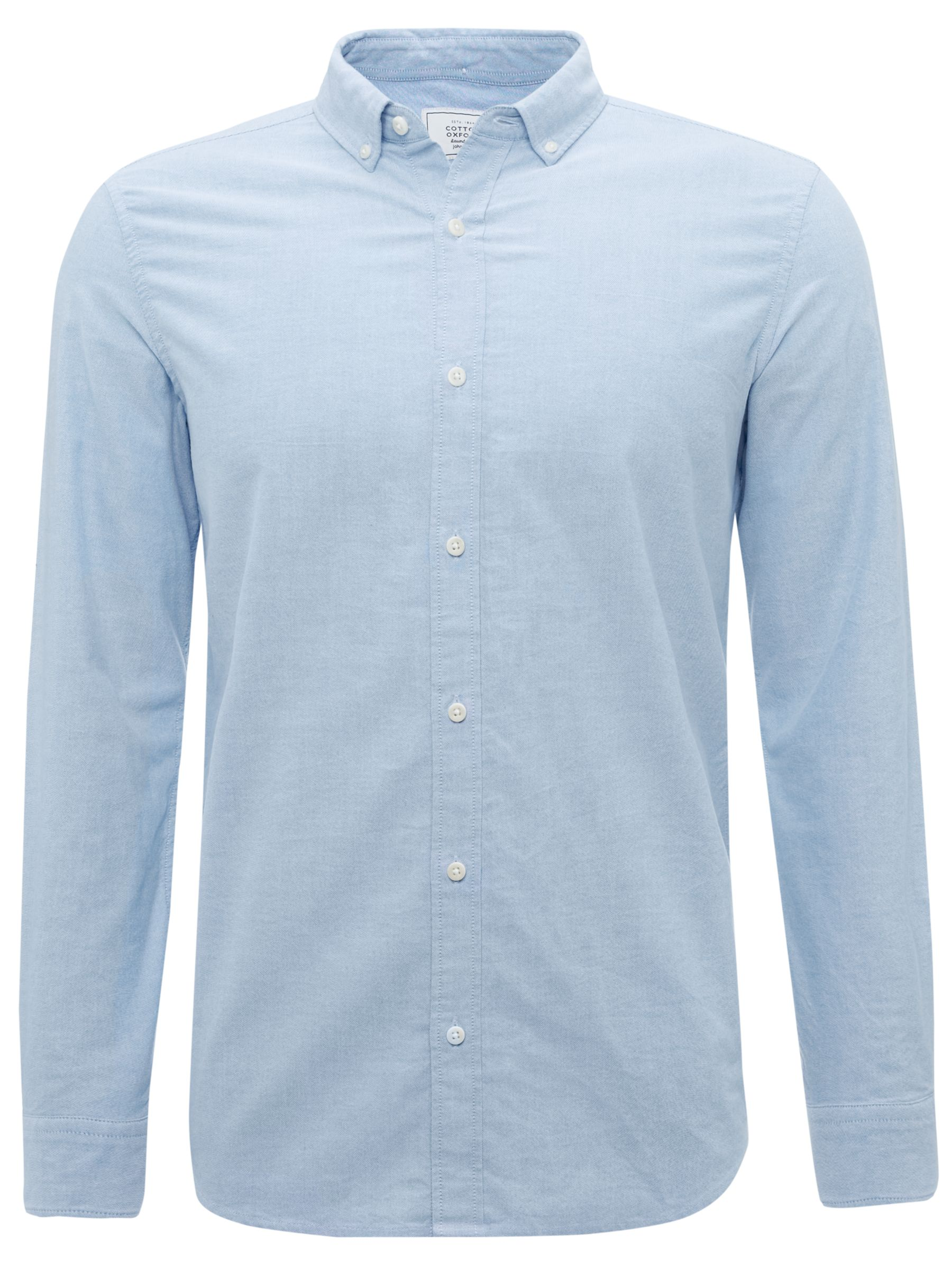 John Lewis Newtown Organic Oxford Shirt