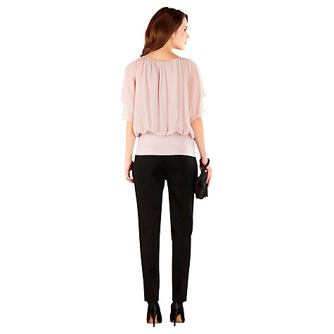 Buy Coast Gemma Trousers, Black Online at johnlewis.com