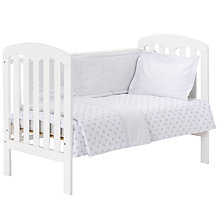 Buy John Lewis Grey Star Bedding Range Online at johnlewis.com