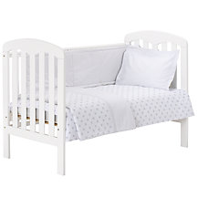 John Lewis Grey Star Bedding Range