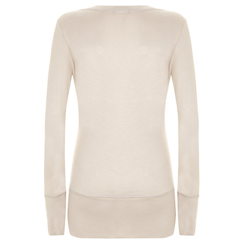Buy Mint Velvet Layering Top, Neutral Online at johnlewis.com