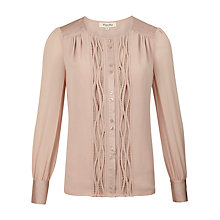 Buy Viyella Detail Blouse, Blush Online at johnlewis.com
