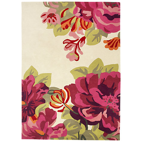 Buy Sanderson Midsummer Rose Rug Online at johnlewis.com