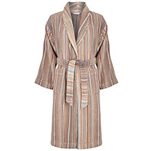 Buy John Lewis Spirit Stripe Unisex Bath Robes Online at johnlewis.com