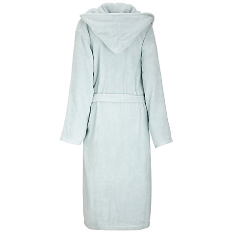 Buy John Lewis Mr Luxury Bathrobe, White Online at johnlewis.com