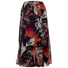 Buy Chesca Crush Print Skirt, Cherry/Black Online at johnlewis.com
