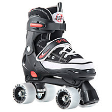 Buy SFR Miami Children's Quad Roller Skates, Black Online at johnlewis.com