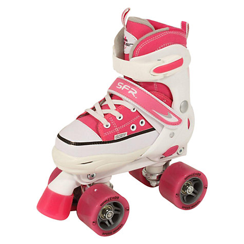 Buy SFR Miami Children's Adjustable Quad Roller Skates, Pink Online at johnlewis.com