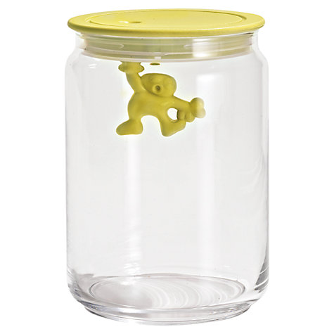 Buy Alessi Yellow Gianni Storage Jar Online at johnlewis.com