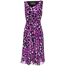 Buy Fenn Wright Manson Clarice Dress, Magenta Combo Online at johnlewis.com