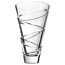 Buy Waterford Crystal Jasper Conran Aura Flared Vase Online at johnlewis.com