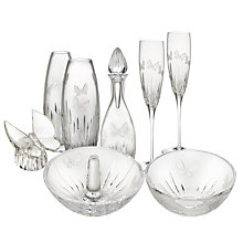 Buy Waterford Crystal Butterfly Glassware  Online at johnlewis.com