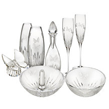 Waterford Crystal Butterfly Glassware