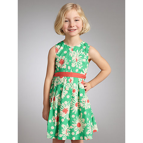 Buy John Lewis Girl Daisy Print Dress Online at johnlewis.com